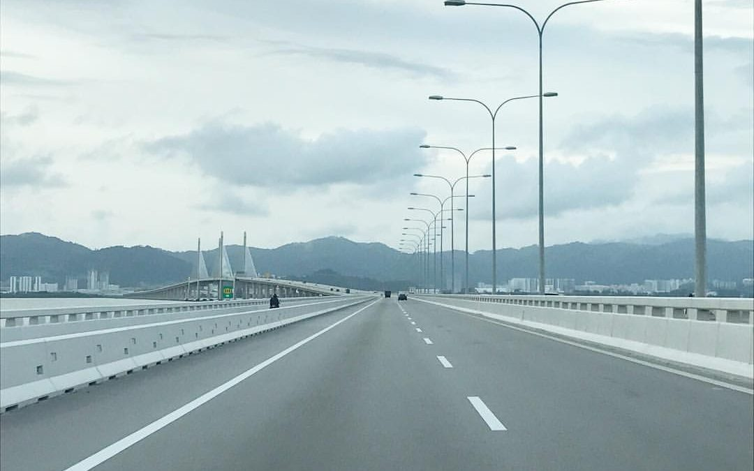 Penang Bridge 2 View by Diva