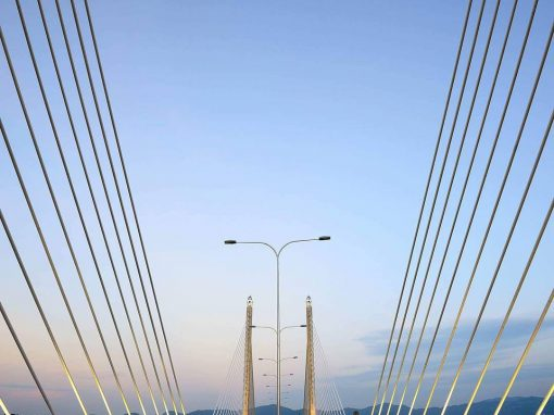 Penang Bridge 2 Close Up View by Jordan Lye