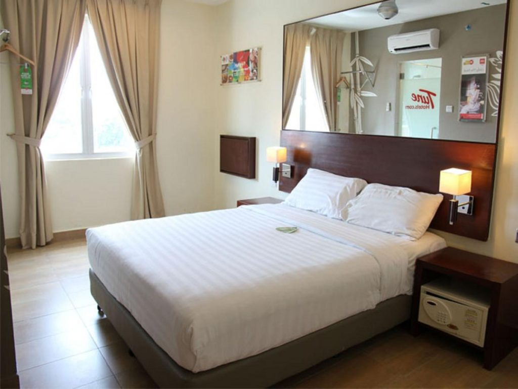 Double Room, Tune Hotel Georgetown Penang
