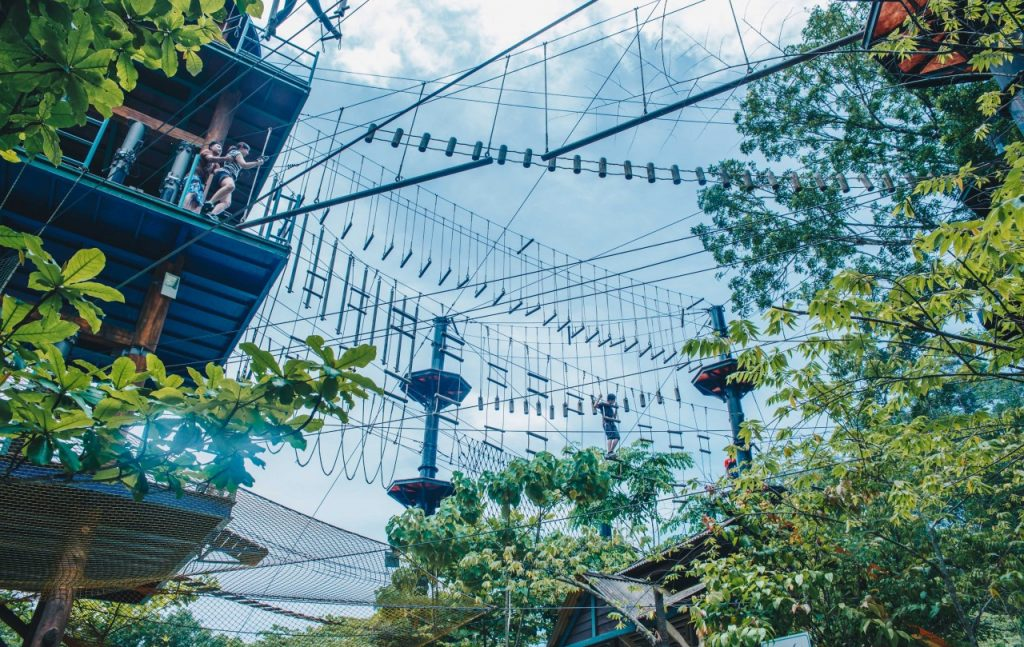 Ropes course, Escape Theme Park