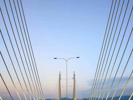 Penang Bridge 2 Close Up View by Jordan Lye